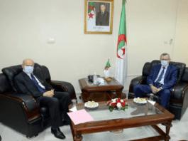 Belhimer évoque avec Rebrab la relance de l'économie en Algérie