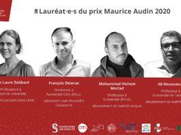 Le prix Maurice Audin de mathématiques décerné à deux chercheurs algériens