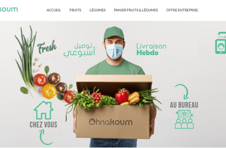 """""""Hnakoum"""", une plateforme pour faire son marché de manière écolo"""