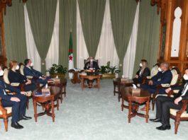 Tebboune reçoit les chefs de l'UFDS, l'UGTA et El Massar El Jadid