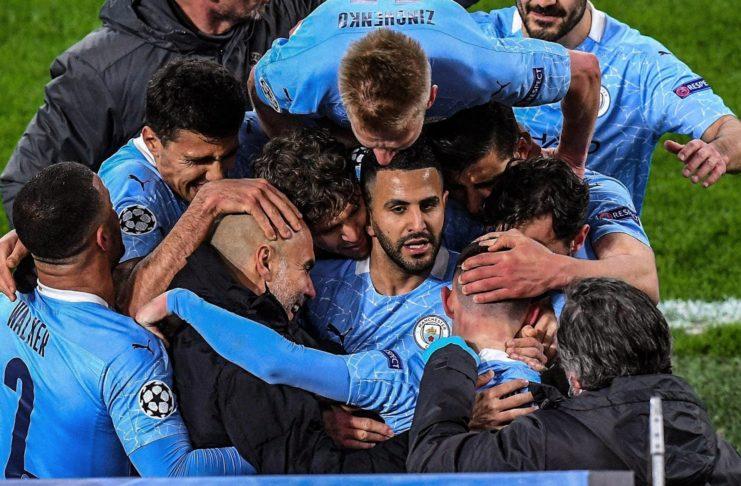 Football: Riyad Mahrez et Manchester City en demi-finale de la Champions League